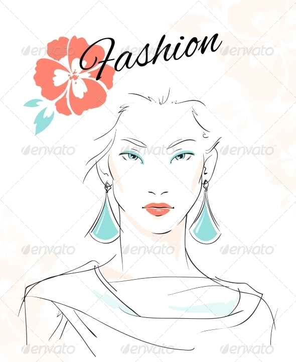 Fashion Portrait - People Characters