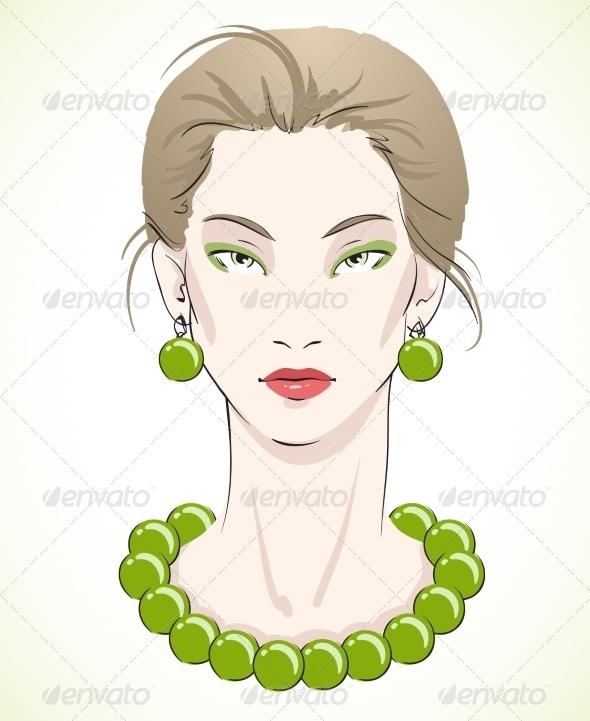 Fashion Portrait - People Characters