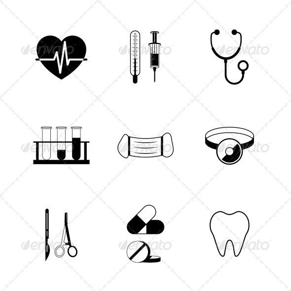 Medical Pictogram Collection - Web Icons