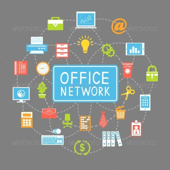Business Office Networking and Communication - Concepts Business