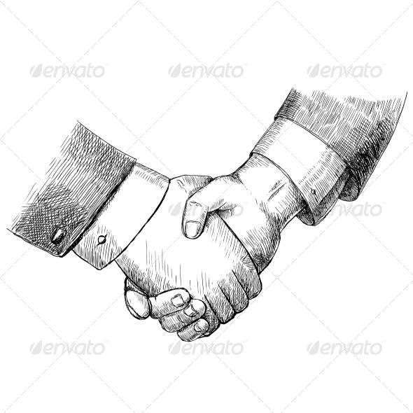 Business Handshake - Concepts Business