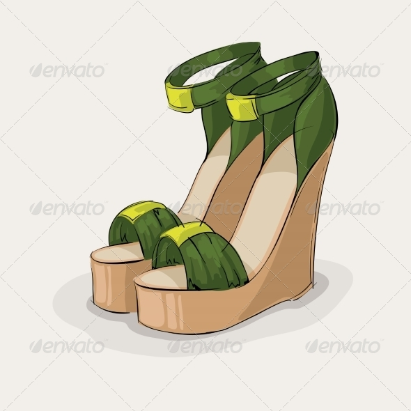 Green Sandals - Retail Commercial / Shopping