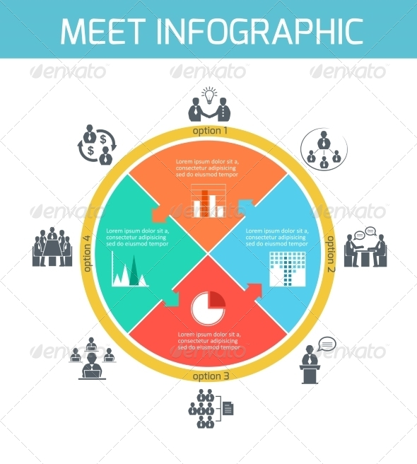 Business Meeting Infographics - Concepts Business