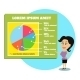 Businesswoman Presenting Graphs and Charts - GraphicRiver Item for Sale