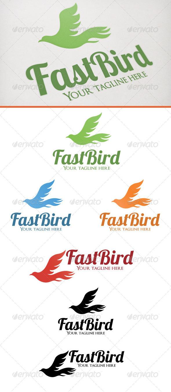 Fast Bird - Animals Logo Templates