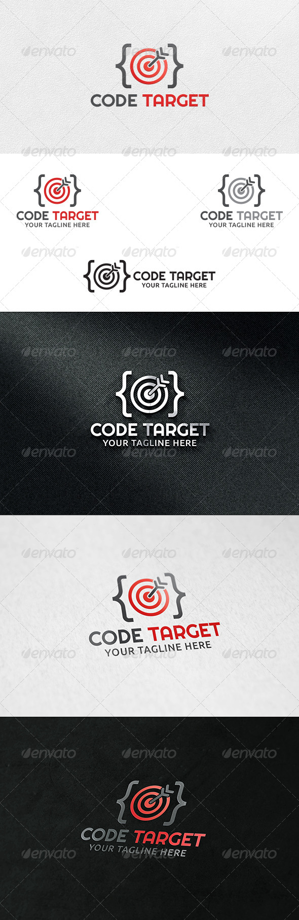 Code Target - Logo Template - Symbols Logo Templates