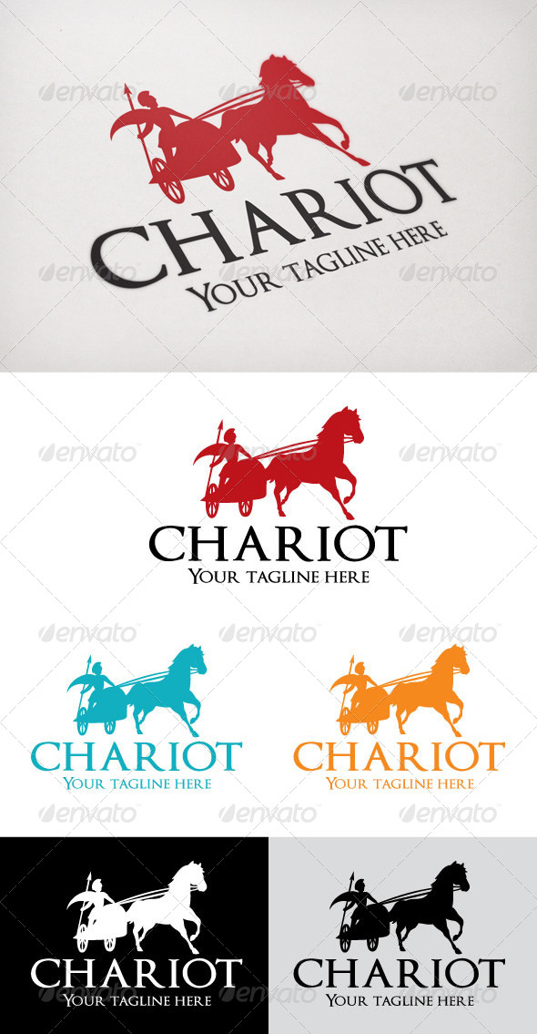 chariot - Humans Logo Templates