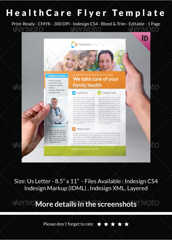 HealthCare Flyer Template - Corporate Flyers