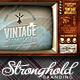 Vintage Television Broadcast Flyer Template - GraphicRiver Item for Sale