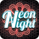 Neon Night Party Flyer - GraphicRiver Item for Sale