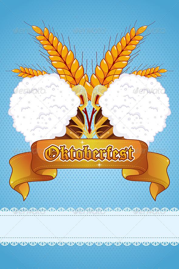 Oktoberfest Banner - Backgrounds Decorative