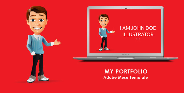 My Portfolio Muse Template - Personal Muse Templates