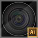 Realistic Vector Camera Lenses - GraphicRiver Item for Sale