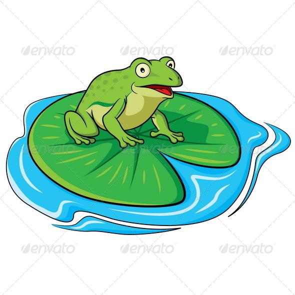 Frog Cartoon - Animals Characters