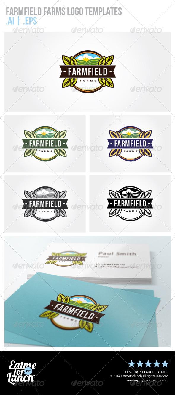 Farms Logo Template - Nature Logo Templates