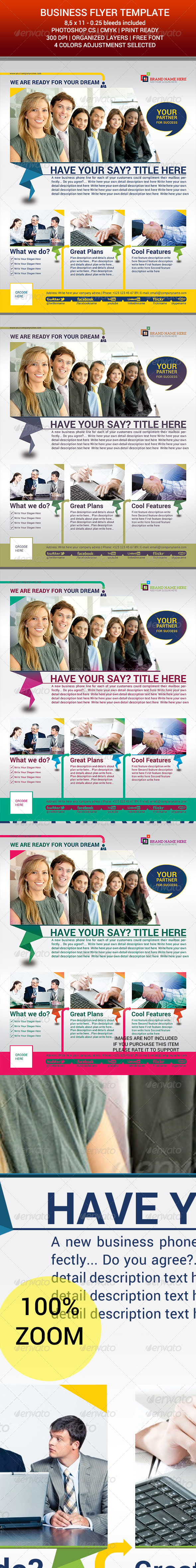 Corporate Flyer Template v.02 - Corporate Flyers