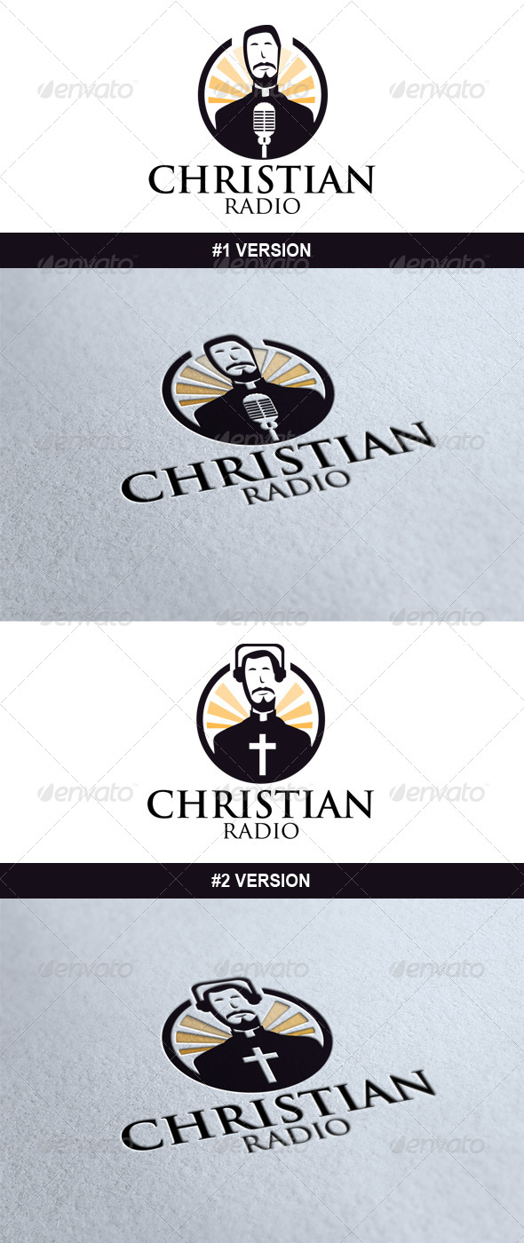 Christian Radio Logo - Humans Logo Templates