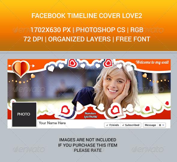 Facebook Timeline Cover Love2 - Facebook Timeline Covers Social Media