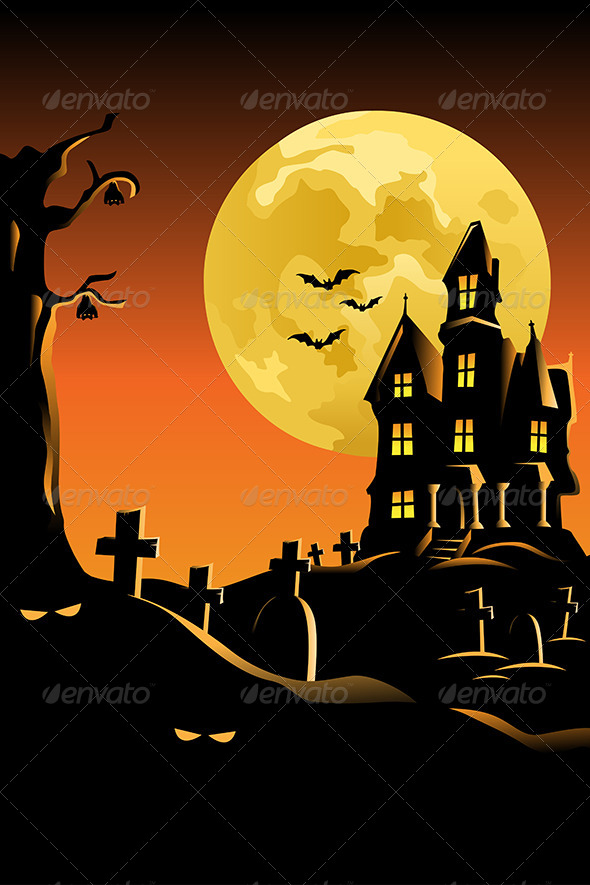 Halloween Background for Poster - Halloween Seasons/Holidays