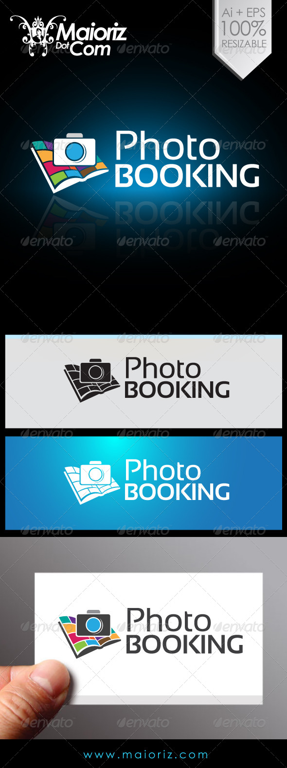 Photo Booking Logo - Objects Logo Templates