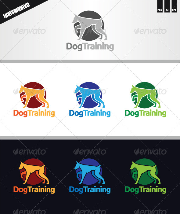 Dog Training Logo - Animals Logo Templates