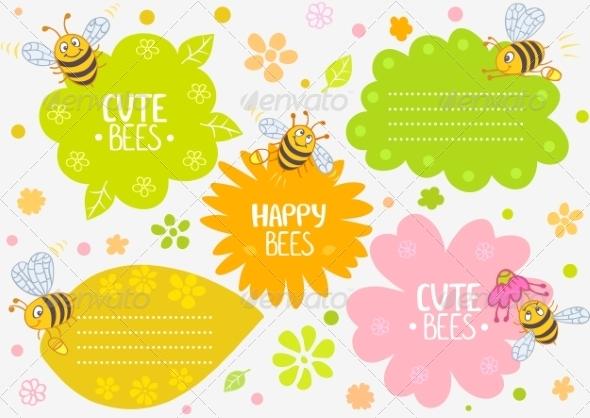 Bees - Birthdays Seasons/Holidays