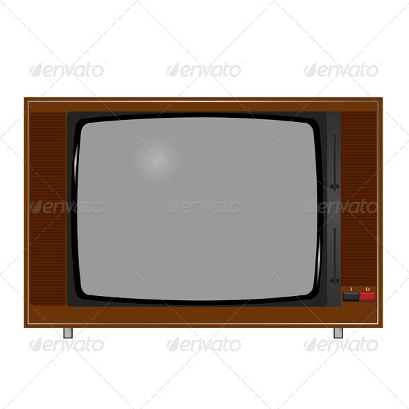 Old TV - Retro Technology