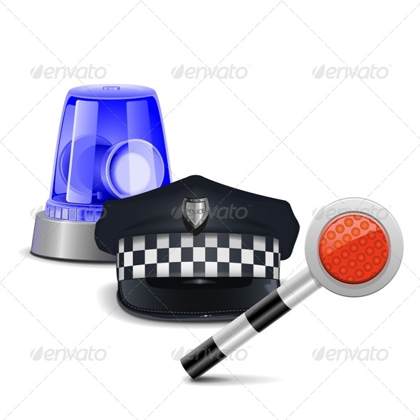 Police Control Concept - Concepts Business