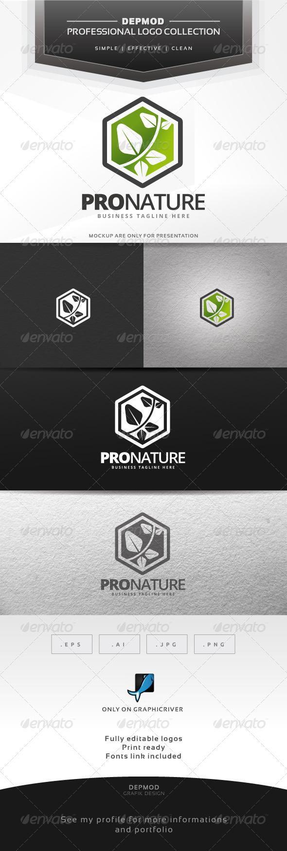 Pro Nature Logo - Nature Logo Templates