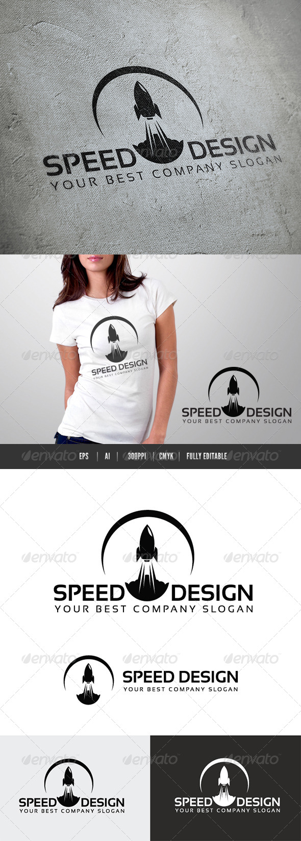 Speed Design - Objects Logo Templates