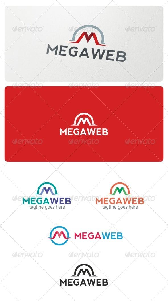 Megaweb Logo Template - Letters Logo Templates