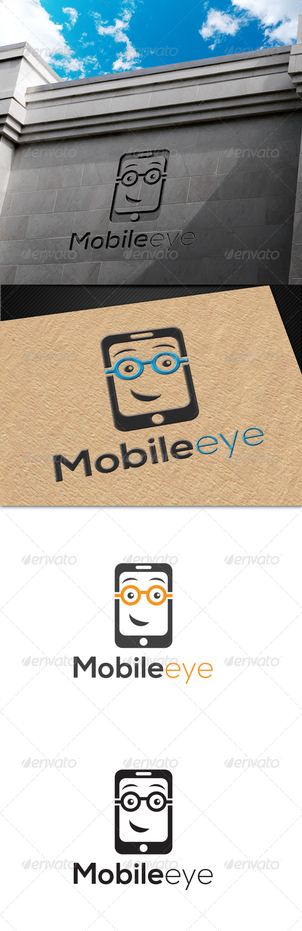 MobileEye Logo - Objects Logo Templates