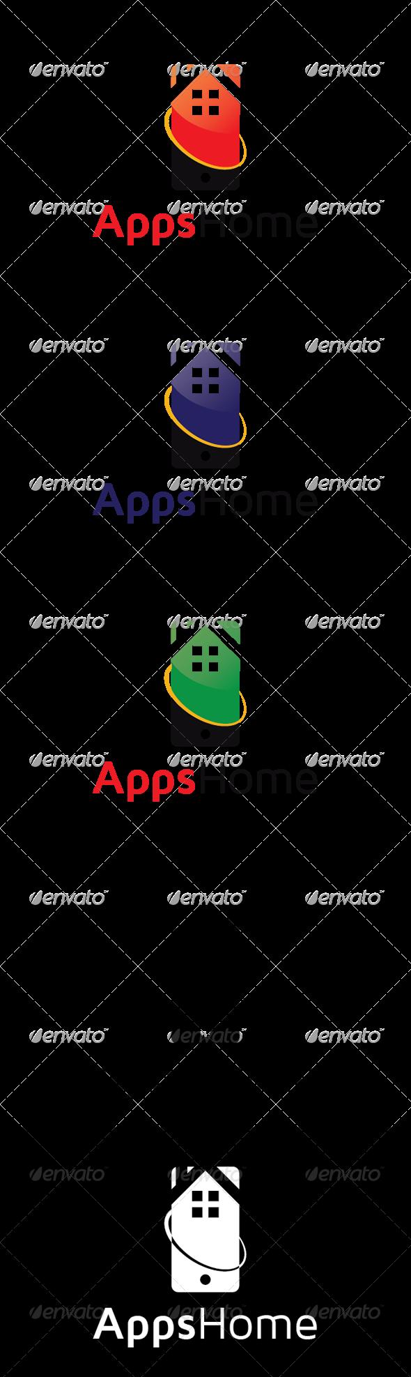 AppsHouse Logo - Logo Templates