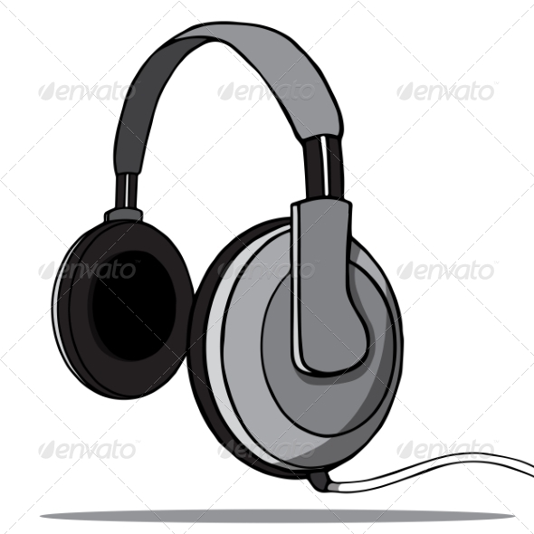 Headphones - Man-made Objects Objects