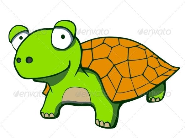 Cartoon Turtle - Animals Characters