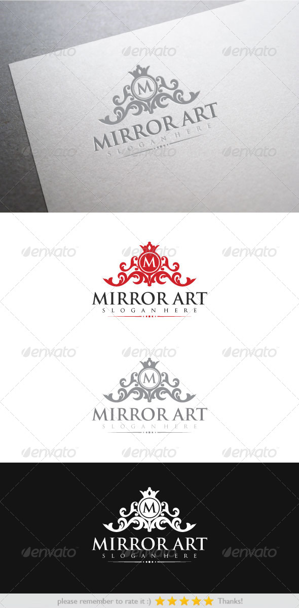Mirror Art - Crests Logo Templates