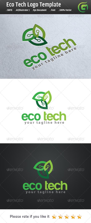 Eco Tech  - Nature Logo Templates