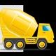 Concrete Mixer Truck - VideoHive Item for Sale