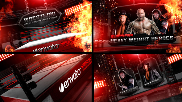 Wrestling Heavy Weight Champhionship By Kaaya Videohive
