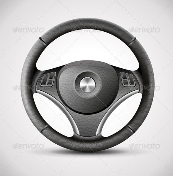 Steering Wheel - Objects Vectors