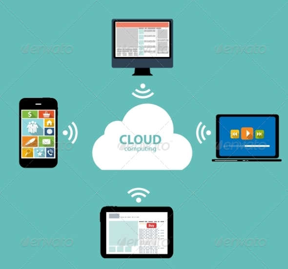 Cloud Computing on Different Electronic Devices - Web Technology