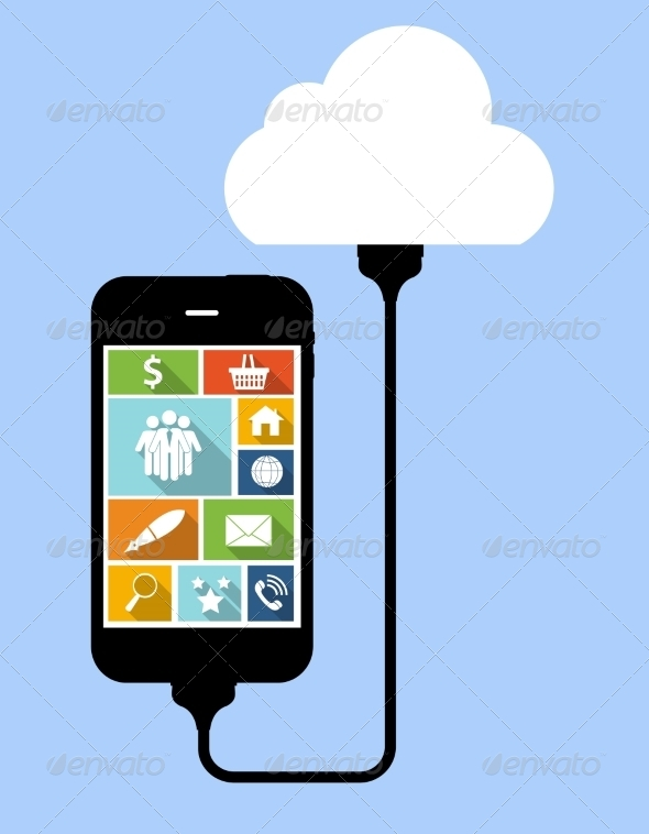 Cloud Computing Concept on Device - Web Technology