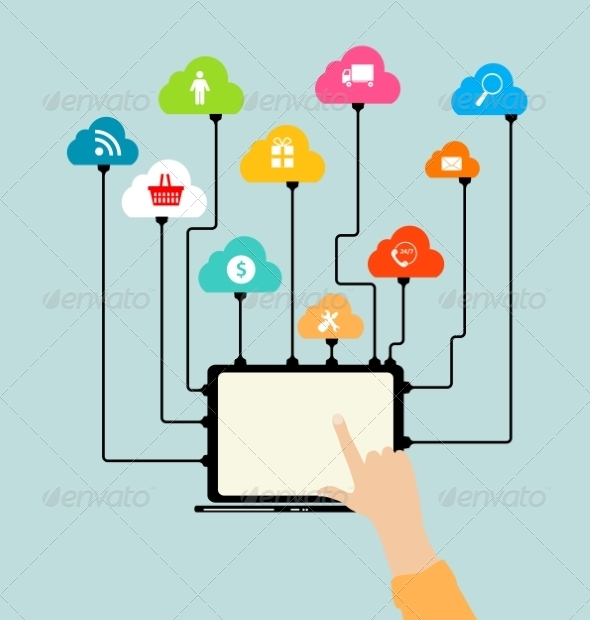 Cloud Computing Concept on Devices - Web Technology