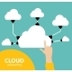 Cloud Computing Concept on Different Electronic - GraphicRiver Item for Sale