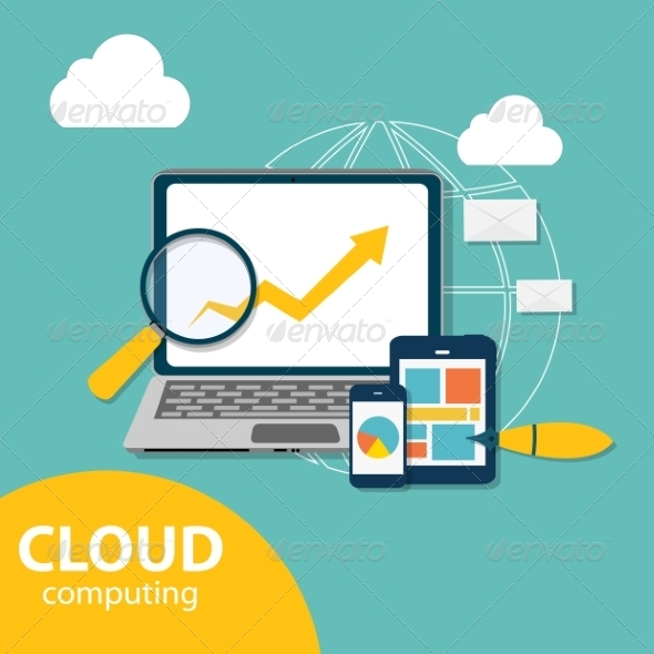 Cloud Computing Concept on Different Electronic  - Web Technology