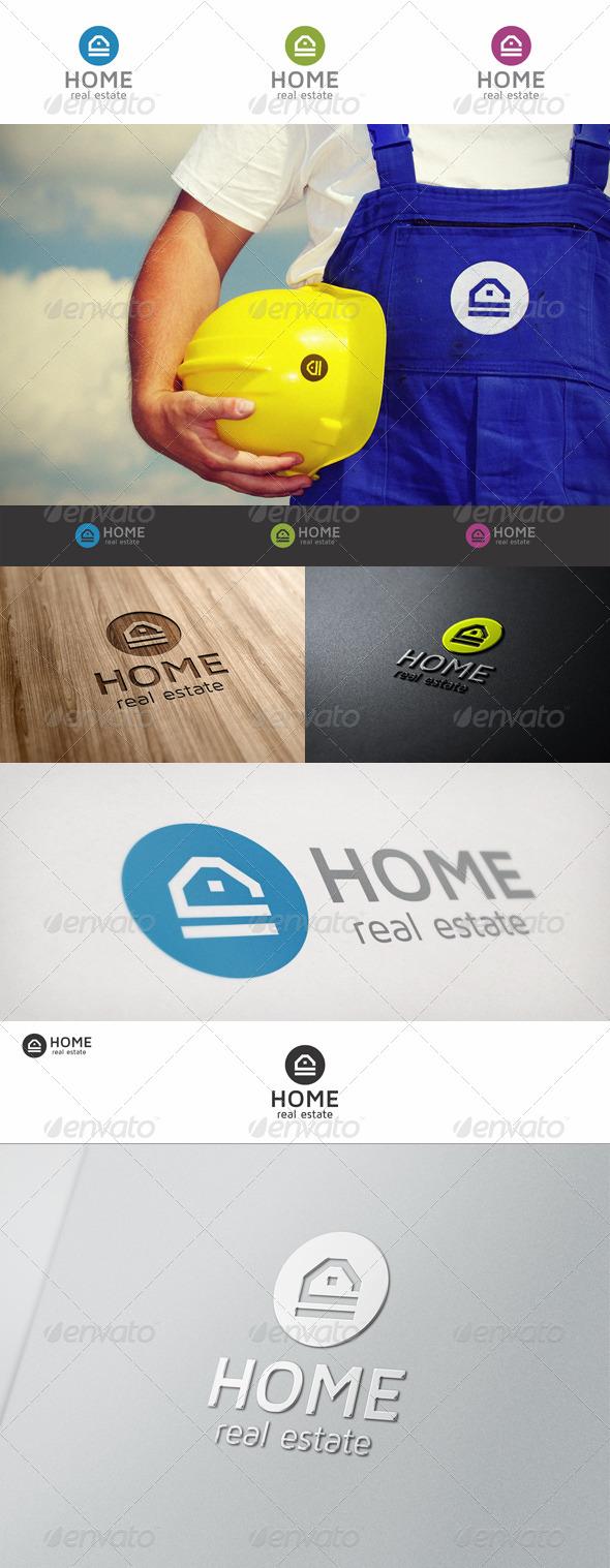 Home Real Estate Logo - Buildings Logo Templates