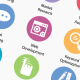 Seo and Development Services Icons - GraphicRiver Item for Sale