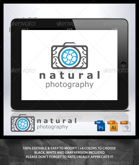 Natural Photography Logo - Objects Logo Templates