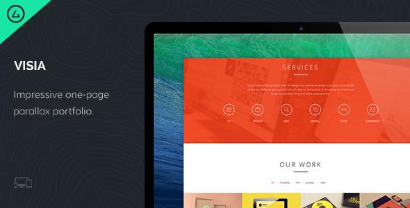 Visia – Responsive One Page Portfolio