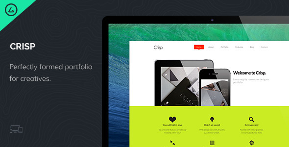Crisp – Creative Designer Portfolio